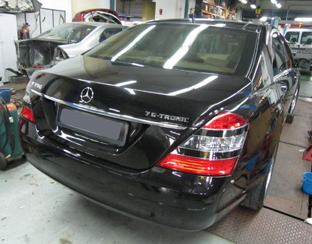 Mercedes benz s350 completevms motor accident claims for Mercedes benz body repair