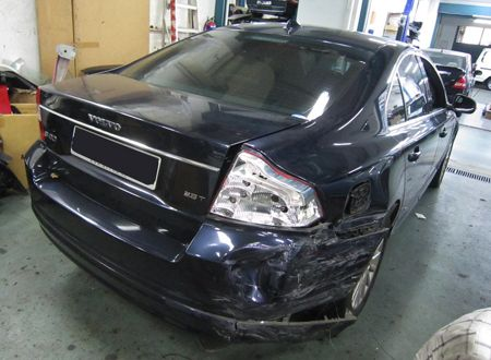 Volvo S80 2.5T – CompleteVMS – Motor Accident Claims Repairs, Car Camera, Accident Reporting ...
