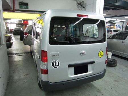 Toyota Townace After Repair on Subaru Fly Replacement
