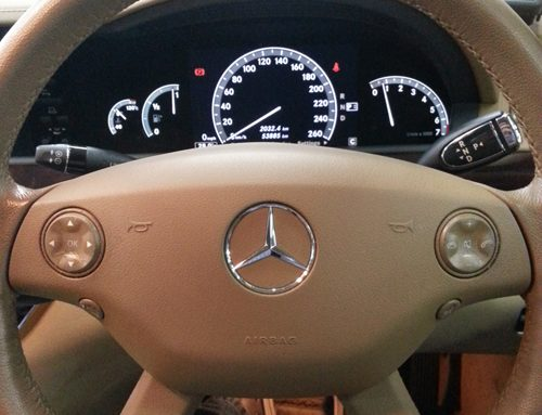 Mercedes Benz Sticky Buttons / Panels Problems
