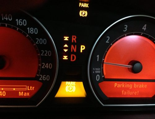 E66 BMW 730Li Parking Brake Failure