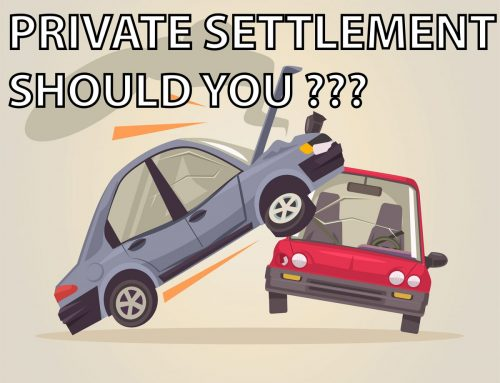 Private Settlement for an accident, correct or wrong?